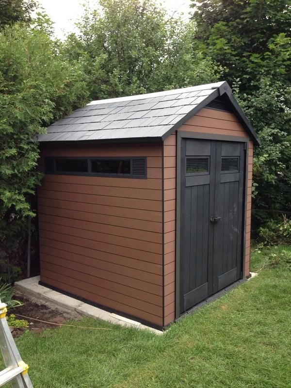 Easy Fit Garden Sheds Keter Keter Manor Plastic Shed 6x4