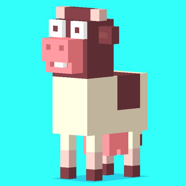 crossy+road+app+floating+cows | CrossyRoad by Hipster Whale.