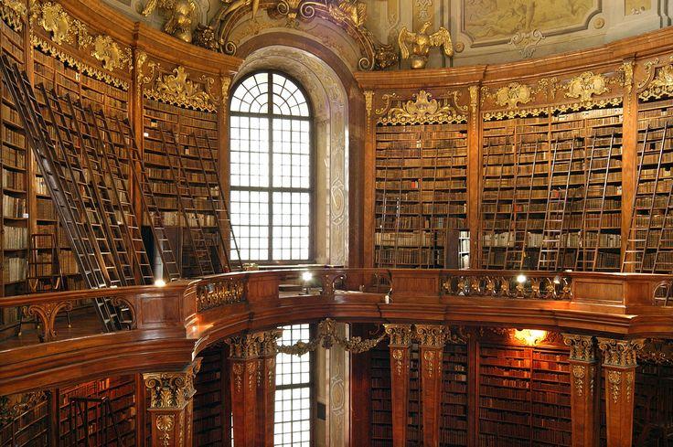 Inside of the Austrian National Library (Österreichische Nationalbibliothek), Vienna