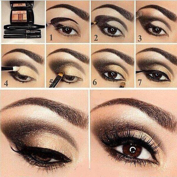 Tutoriales de Maquillajes para salir de Noche 8