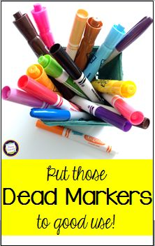 Primary Inspiration: Put Your Old Markers to New Use with an Earth Day Project