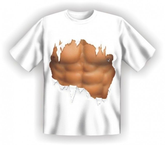 Maglietta Addome Palestrato Divertente Idea Regalo   eBay