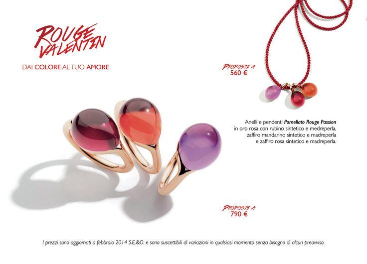 LIGUORI -  #Pomellato Rouge Passion #collection