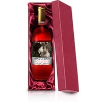 Personalised Valentines Day Wine Rose from Experience Frenzy