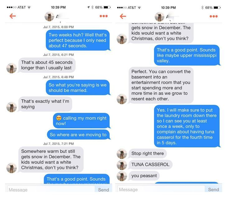 This couple totally nail Tinder dating with their 22-message ...