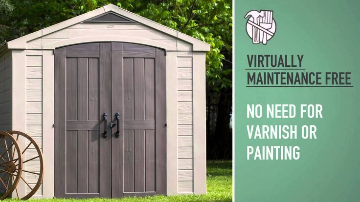 Keter Factor 8x8 Shed. Read the full review: