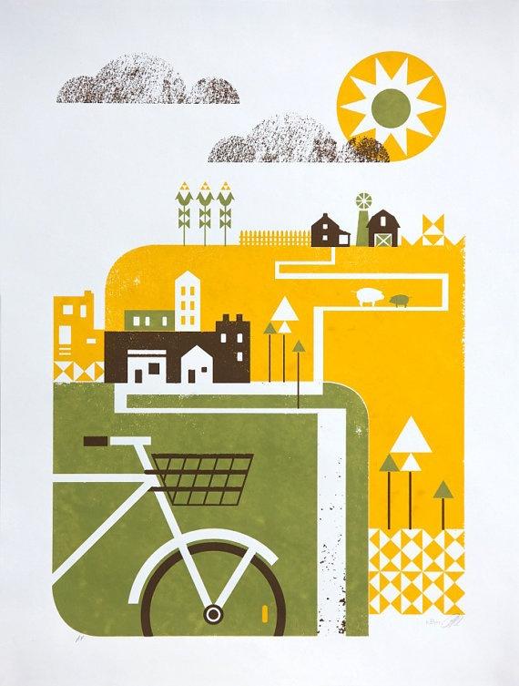Image of Good Day Sunshine : Artcrank 2011 : Basemint Design $30