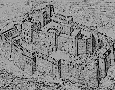 how to draw a medieval europe castle