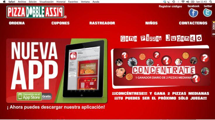 Con una simple aplicación y varios concursos....  Pizza Doble Pizza pasó de tener 903 a 4.150 fans en 9 meses