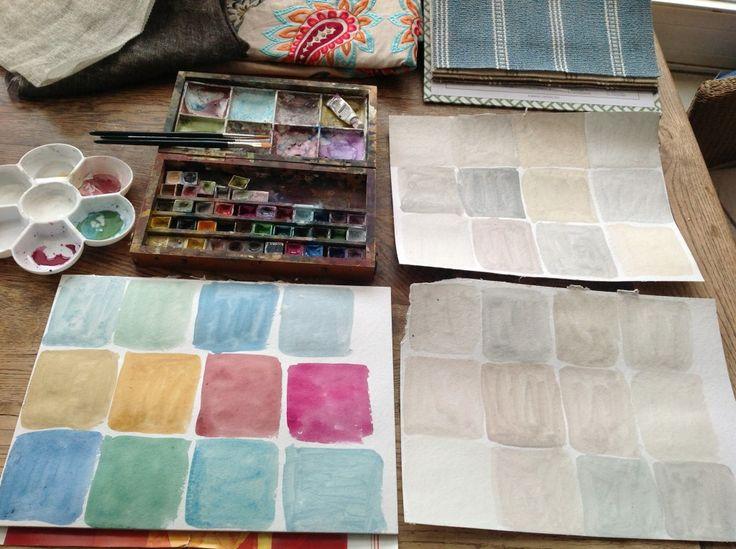Richtige Wandfarbe Finden 41 besten farbige wände bilder auf wandfarben rund