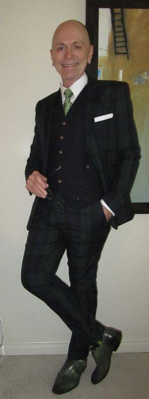 Sunday Brunch outfit w/ Black-watch tartan suit, TOPMAN waistcoat, Tommy Hilfiger tie, Bruno Cascinelli double-monks… #SundayBrunch #Blackwatch #TOPMAN #TommyHilfiger #BrunoCascinelli #Toronto #WIWT #menswear #mensweardaily #mensfashion #instafashion #fashion #dandy #dandystyle #sartorial #sartorialsplendour #sprezzatura #menstyle #dapper #dapperstyle #menshoes