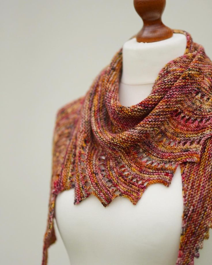 57 best Knitting Patterns for Variegated Yarns images on Pinterest ...