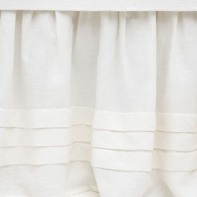 Pine Cone Hill Pleated Linen Bed Skirt