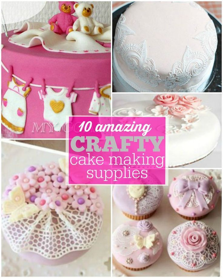 Make your own crafty cakes with some of the best cake decorating supplies to make it easy!