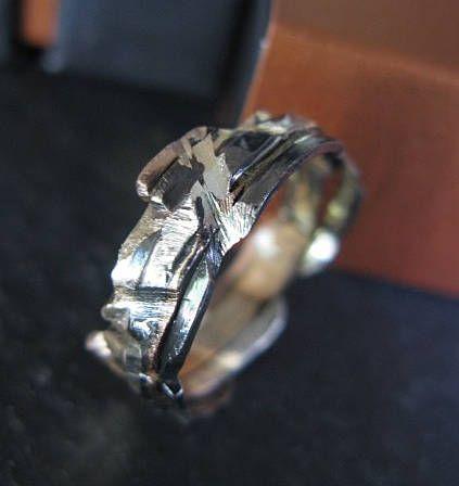 Mens Wedding Band Mens Wedding Ring Viking Wedding Ring Rustic