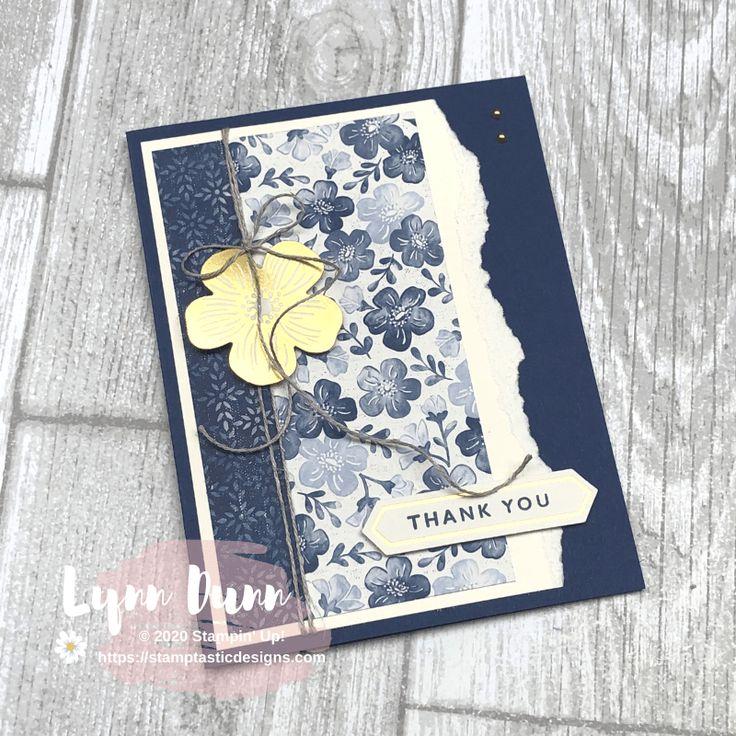 8 simple card ideas featuring the boho indigo medley