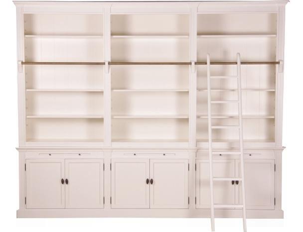 Bücherregal wand landhausstil  Die besten 25+ Bibliotheksleiter Ideen auf Pinterest ...