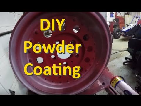 How To Powder Coat At Home - DIY Powder Coating with Kevin Tetz - Eastwood - YouTube