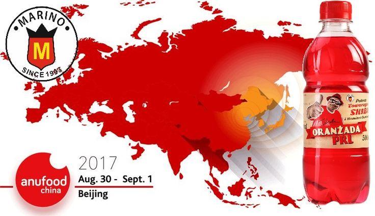 MARINO Sp.z.o.o. bierze ponownie udział w najważniejszych targach importowanej żywności w Północnych Chinach i jednych z najważniejszych targów w tym zakresie w całych Chinach. ANUFOOD China 2017 30.08 – 01.09.2017  CIEC (NEW) Beijing, China