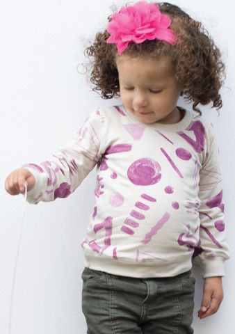 Girls SweatShirt – Incakids Webshop  #kids #apparel #pattern  #incakids #hipster #type #wave
