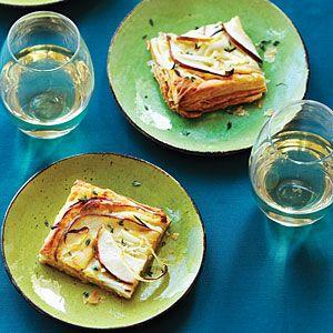 Blue Cheese and Pear Tart | MyRecipes.com