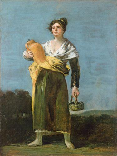 Francisco José de Goya - Water bearer