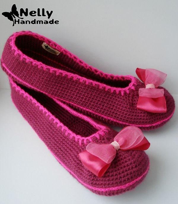 Ballerina Slippers - free pattern