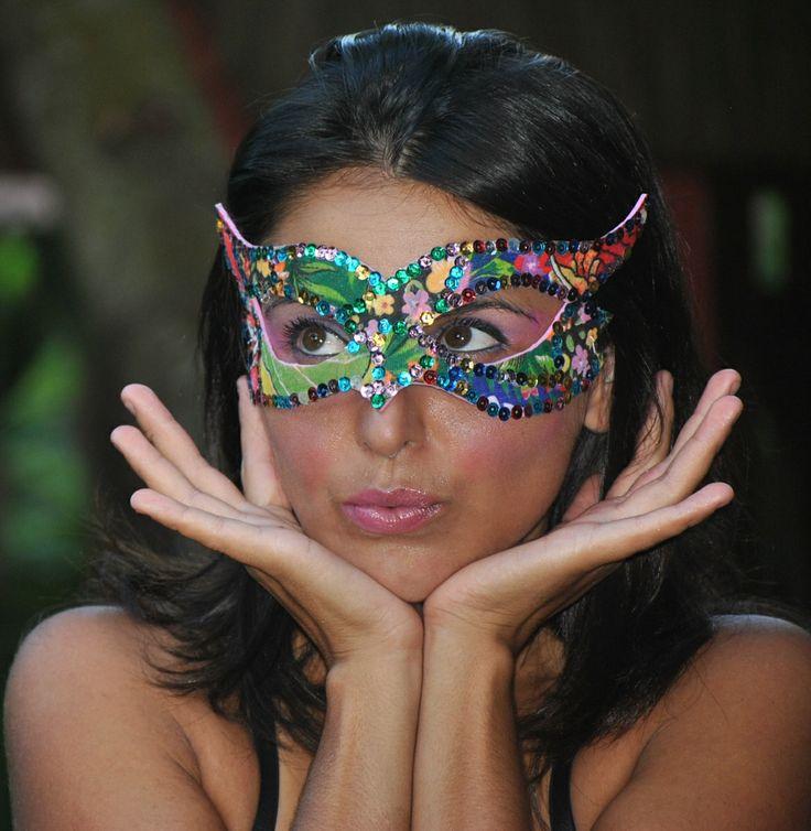 chita - máscara...carnaval chegando