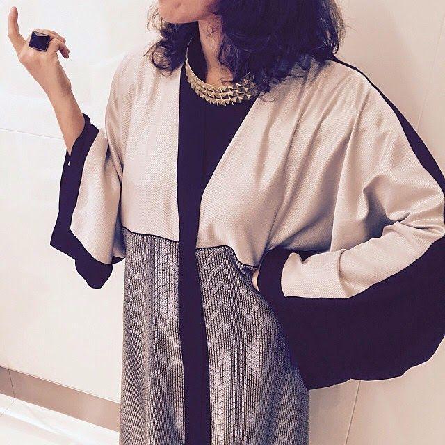 wearing Arabesque abaya