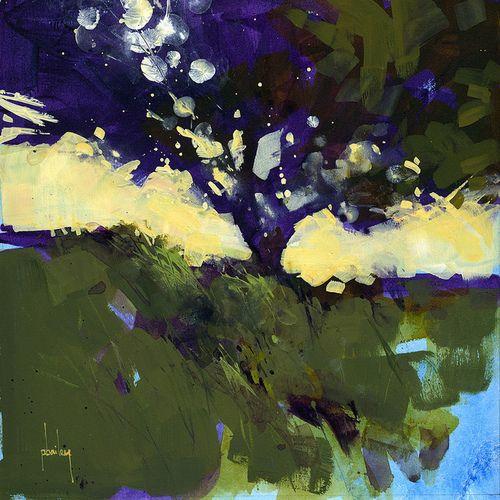 Paul Bailey ART, Warm shadows 8 x 8 inches 2013