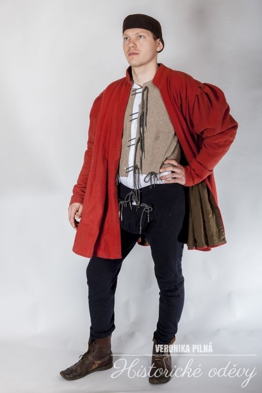 15. century, wool clothes for man