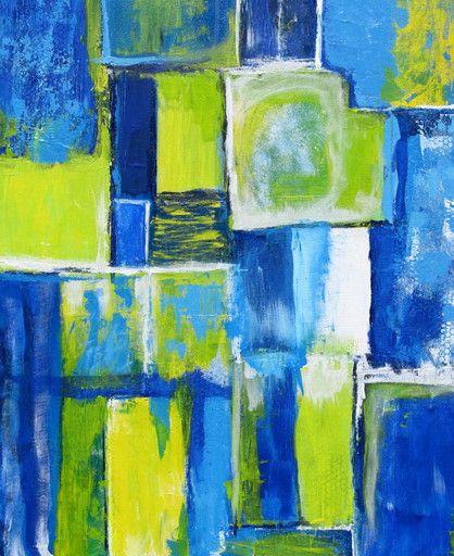 "\""Blue 3\"" by Pamela K Jamieson @ VirtualGallery.com"
