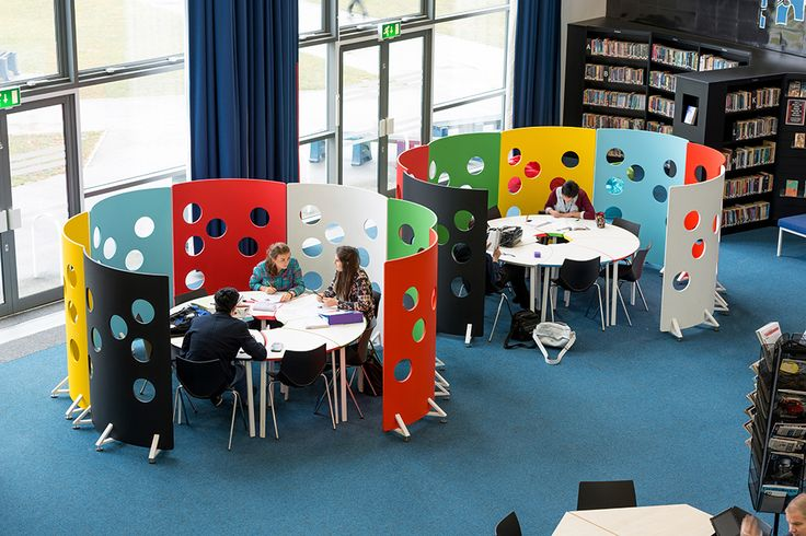 Love this portable study area School Libraries | Demco Interiors - Inspiring Library Design