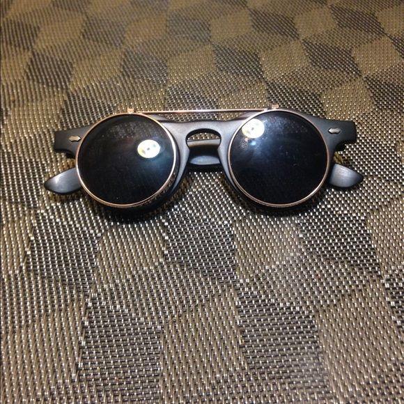 Dwayne Wayne's Flip up sunglasses Flip up glasses sunglasses Sunglasses Accessories Glasses