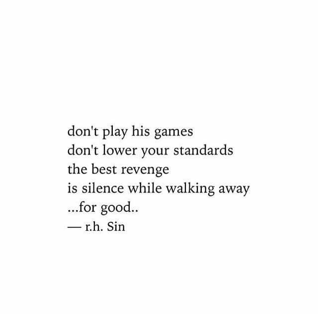 Never lower your standards quote