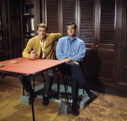 """The Hero"" Richard Mulligan, Victor French"