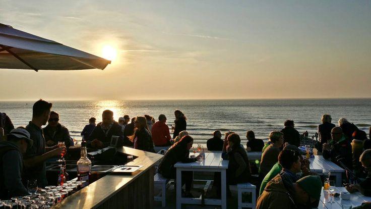 'Milchbar im Sonnenuntergang' aus dem Reiseblog 'Die Milchbar auf Norderney sollte unbedingt auf eure 'Bucketlist''