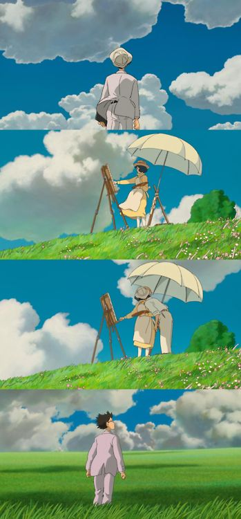 """""""Who has seen the wind? Neither I nor you: But when the leaves hang trembling, The wind is passing through."""" (The Wind Rises), 2013"""