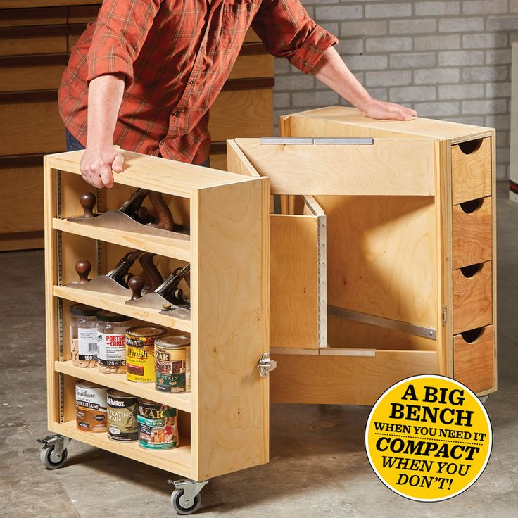 How to Build a Folding Workbench — The Family Handyman