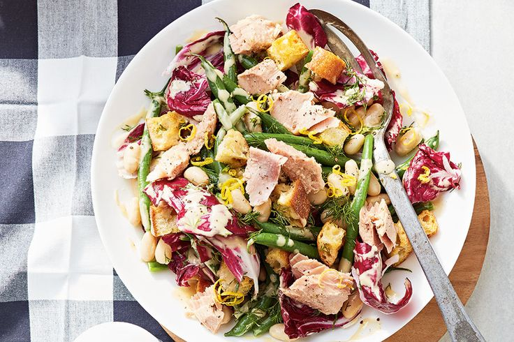 Bean salad is a picnic classic that deserves a little freshening up. This version is full of bold yet balanced flavours.