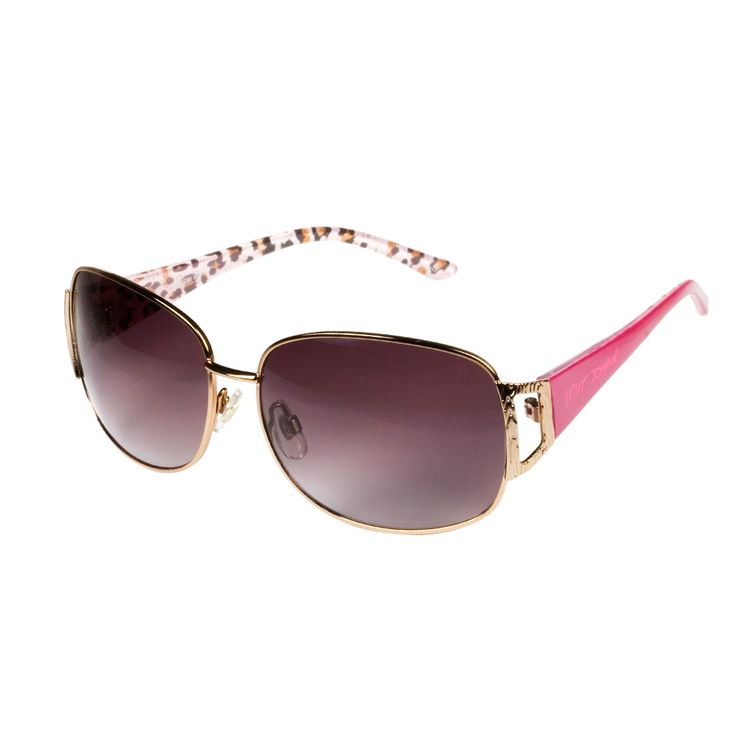Pink Mod Metal Sunglasses by Betsey Johnson: Pink Mod, Fashion Style, Adorn, Betsey Johnson, Eye Wear, Eyes