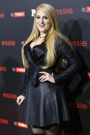 Meghan Trainor always looking beautiful and curvy and inspiration to young women.