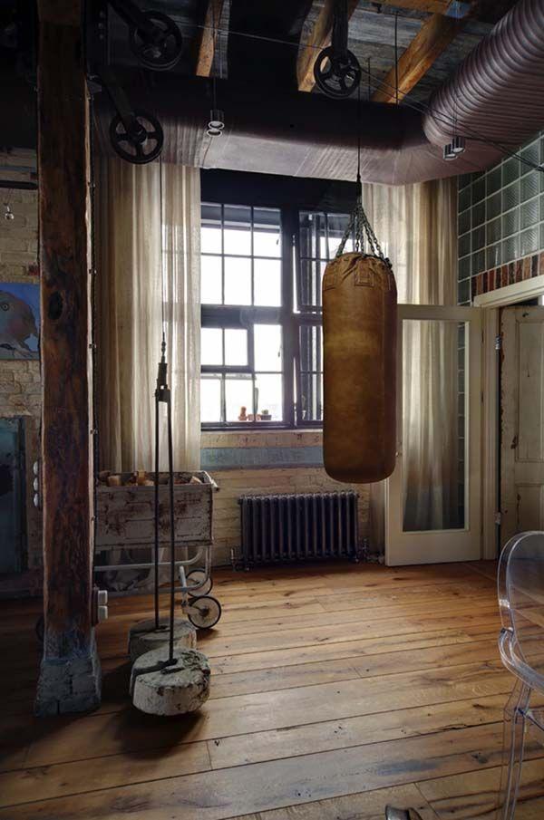 Fesselnde industrie stil loft wohnung in moskau for Dekoration in wohnung