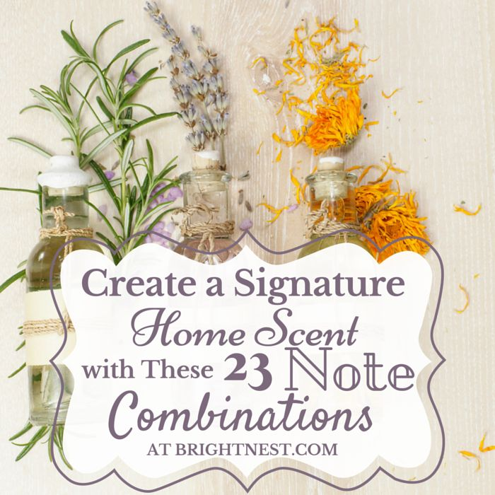Do you dig spicy, cozy scents? Or the smell of winter woods? Or you are a diehard floral fanatic? Use our guide, get some essential oils, and get to work mixing your own signature home scent.