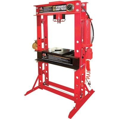 Műhelyprés  pneumatikus - hidraulikus  50t, Big Red