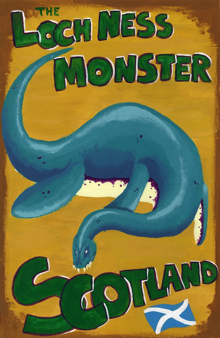 37 best nessie images on pinterest loch ness monster mythical