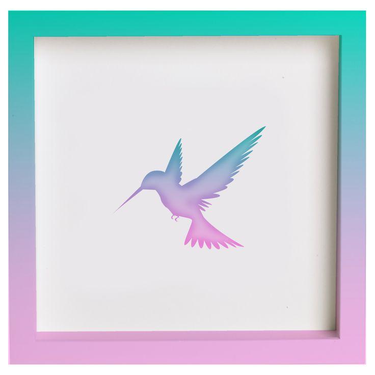 [#Habitanimal] Technicolor Bird $35.000 REF: HAD-016