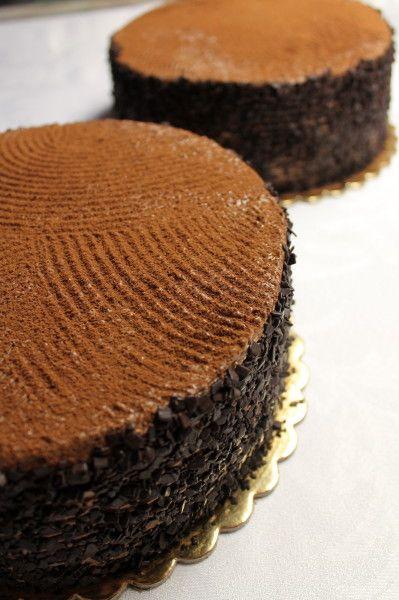 Egyszerű csokitorta. :