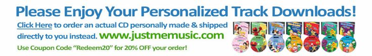 Elmo sings your childs name! 3 songs free or 9.99 for a cd of 60 personalized songs