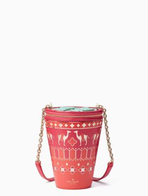 full plume tea glass bag | Kate Spade New York
